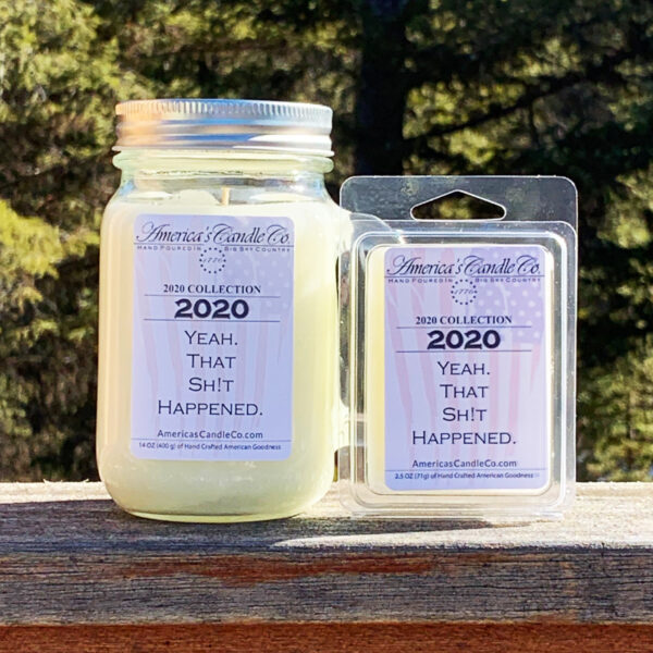 Americas Candle Company 2020 Collection set