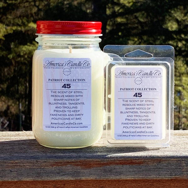 Americas Candle Company Patriot Collection 45 set