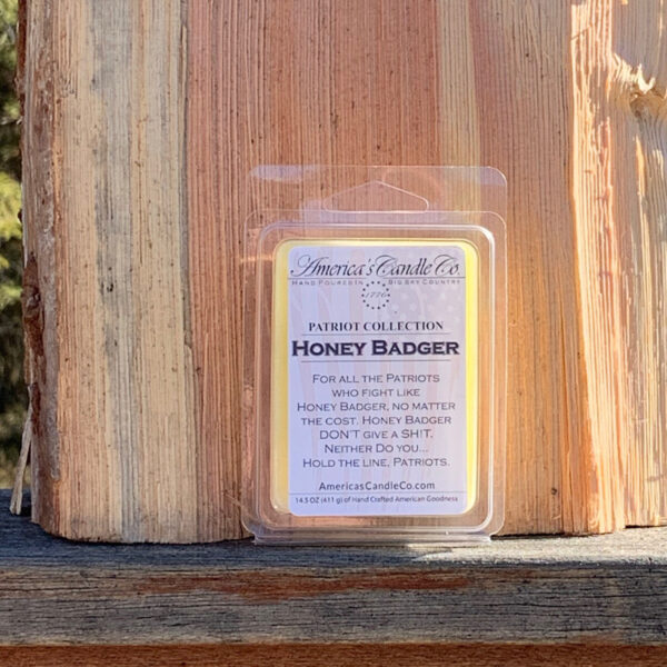 Americas Candle Company Patriot Collection Honey Badger melt